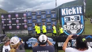 Avengers Win Gold 3v3 KickIt World Championships