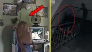 HANTU TANPA KEPALA - 5 video penampakan hantu dan kejadian mengerikan berhasil tertangkap kamera #3