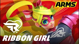Nintendo Switch ARMS (RIBBON G…