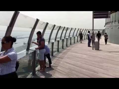 Singapore - Marina Bay Sands SkyPark Observation Deck