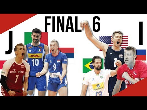 Volleyball World Championships 2018 Final 6 Preview