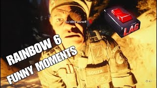 RAINBOW 6 FUNNY MOMENTS & PLAYS | EXTENDED EDITION