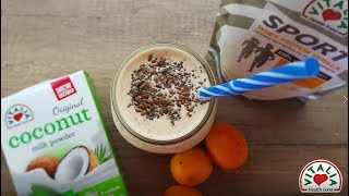 Vitalia healthy food - Протеинско смути со кокосово млеко (diet, GMOfree)