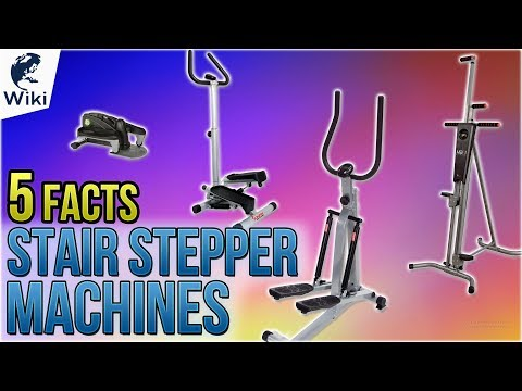 Stair Stepper Machines: 5 Fast Facts