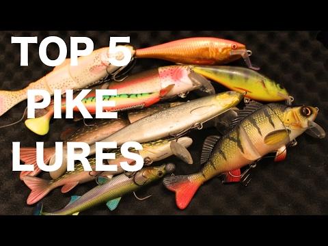Top 5 Pike Fishing Lure