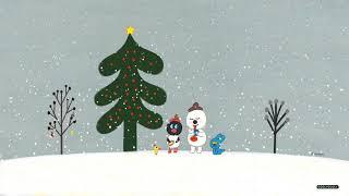 [굴리굴리] 나홀로 크리스마스에 적당한 일러스트  크리스마스의 굴리굴리 친구들 1시간 움직이는 배경화면
