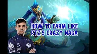 EG. Arteezy Naga Siren | EG vs Nigma | Dream League Season 13: Leipzig Major | [Player Perspective]