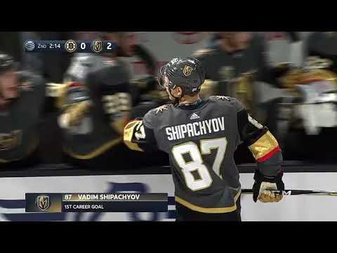 Vadim Shipachyov Tallies First NHL Goal For Las Vegas (2017)