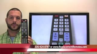 SAMSUNG BN59-01042A Remote Control PN: BN5901042A - www.ReplacementRemotes.com