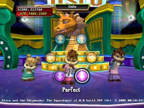 Alvin and the Chipmunks: The Squeakquel (Video Game 2009 ...