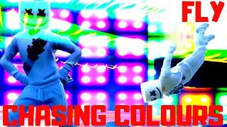 Download lagu Fly & Chasing Colours - Fortnite Music Video - Marshmello/Ookay/Noah Cyrus