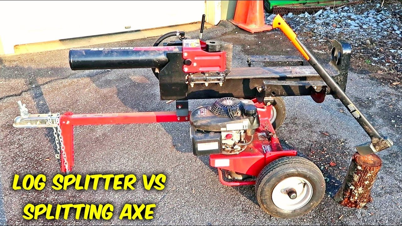 axe vs log splitter