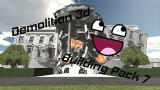 Demolition 3D: Building Pack 7 Trailer