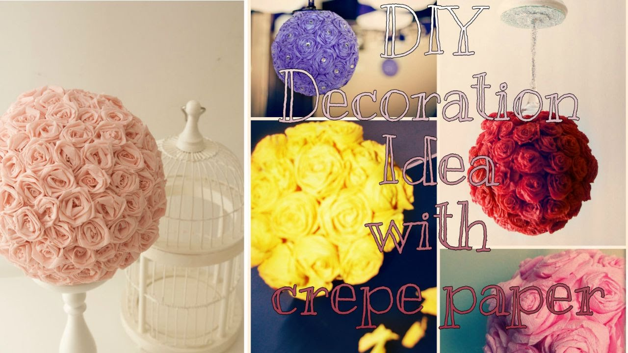 Living Room Decoration Idea diy eid decoration idea with crepe paper creativeq youtube creativeq