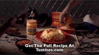 TOSTITOS® - Cheesy Zombie Bread   Pull Apart Bread Recipe