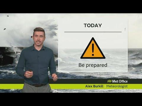 Thursday morning forecast 07/12/17