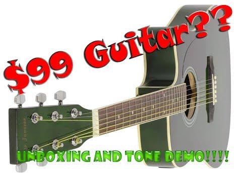 thinline acoustic guitar - Jameson