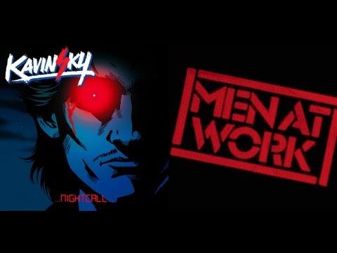 DOWN UNDER NIGHTCALL - Men At Work vs. Kavinsky MASHUP