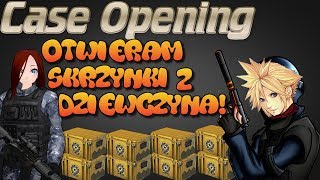 (CS;GO#10) - Otwieram skrzynki z dziewczyna! - OPENING 60 Caseow