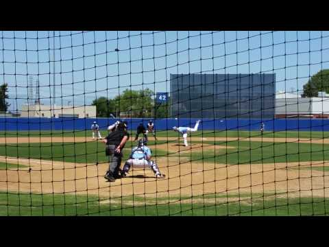 Josh Jubile Hits 2 RBI Double Playing for La Sierra University April 17, 2016