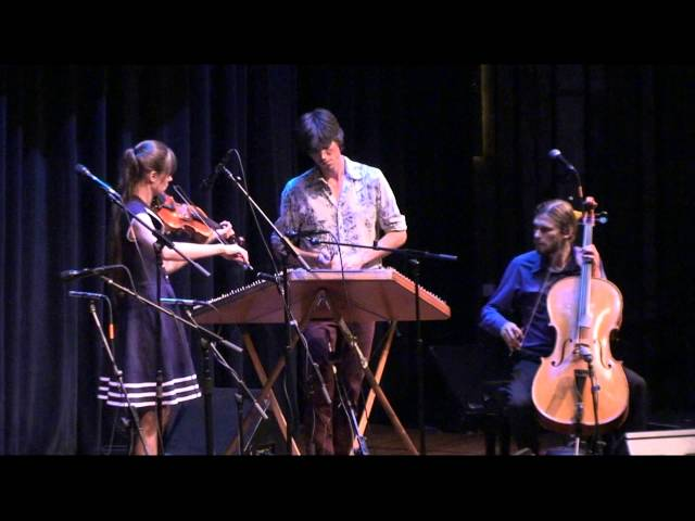 Shasta String Celebration 2013  - The Bee Eaters - Tashina and Tristan Clarridge, Simon Chrisman