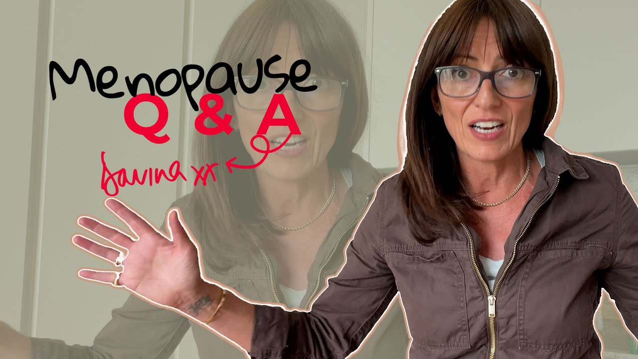 YOUR MENOPAUSE QUESTIONS ANSWERED | Davina McCall