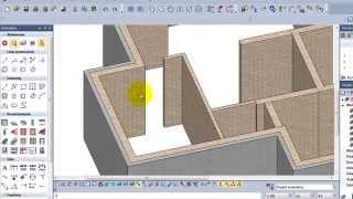 Akademia EliteCAD: Projekt domu z poddaszem użytkowym. Lekcja 3  - Projektowanie ścian