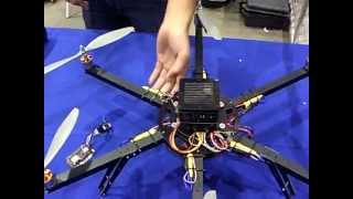 Flying Remote controlled tiny Multi-Rotors helicopters - 3D Robotics