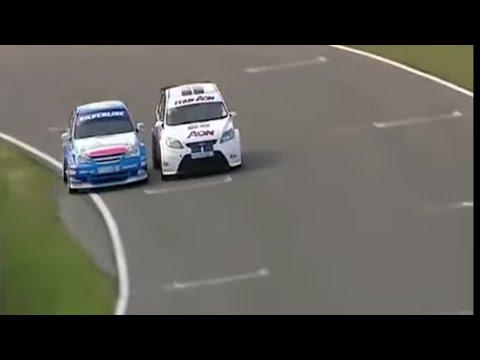 2009 Brands Hatch - Jason Plato beats Tom Chilton by 0.015 seconds
