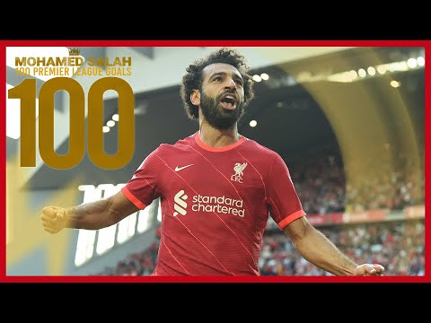 Mo Salah's 100 goals in the Liverpool Premier League    Manchester United celebrity, Chelsea screamer and Everton stunner