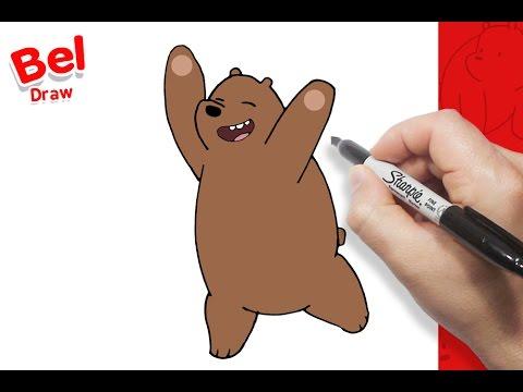 رسم شهاب بالخطوات كرتون الدببة الثلاثة تعلم الرسم سهل Youtube