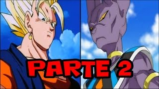 dragon ball z what if episode 16 6 6 vegetto vs beerus parte 2