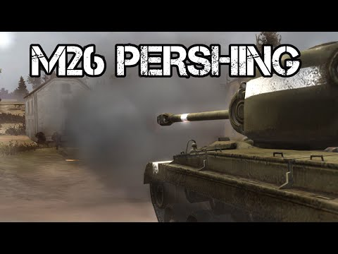 M26 PERSHING IS HERE!  (Company of Heroes 2)