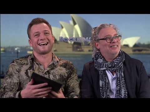 ROCKETMAN   Taron Egerton And Dexter Fletcher Answer Your Questions   Paramount Pictures Australia