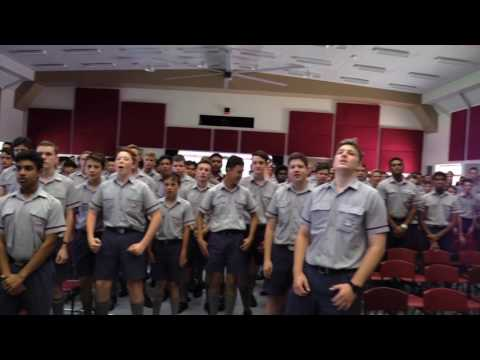 War Cry Practice -  GPS 2016