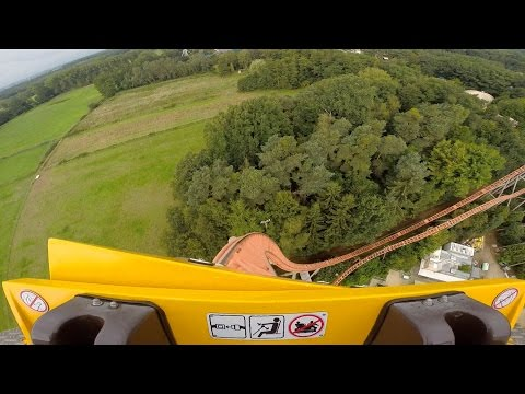 Expedition GeForce front seat on-ride HD POV Holiday Park