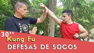 COMO DEFENDER DE SOCOS NO ROSTO E ESTOMAGO - KUNG FU 30'' Martial Arts Self Defense