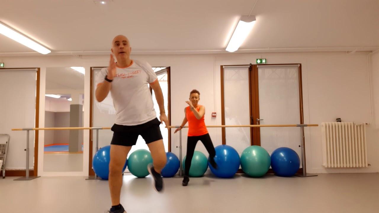 Un duo très sportif : Gym cardio