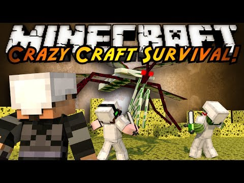 Minecraft Crazy Craft : WHY DO I SUCK?!