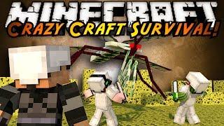 minecraft crazy craft why do i suck