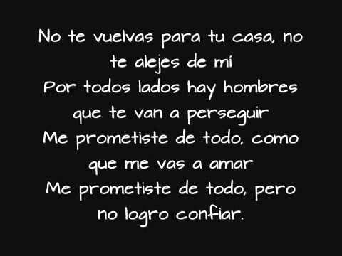 No te quiero perder nunca  3p!) Feat El Melly de Los Gansters    LETRA