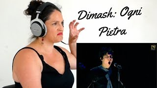 Dimash Passione NEW SONG - Singer Songwriter Reacts