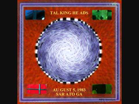 Talking Heads - Girlfriend Is Better 1983-08-05