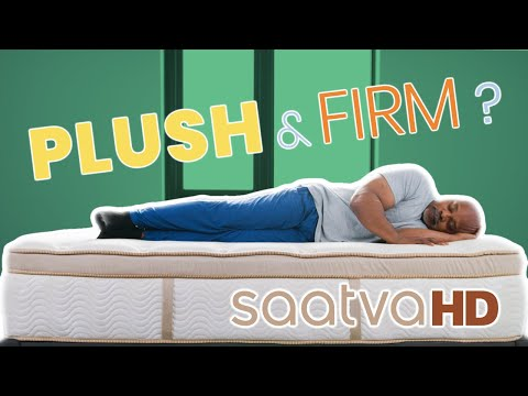 Saatva HD Mattress Review | Best Bed for Big Bodies?