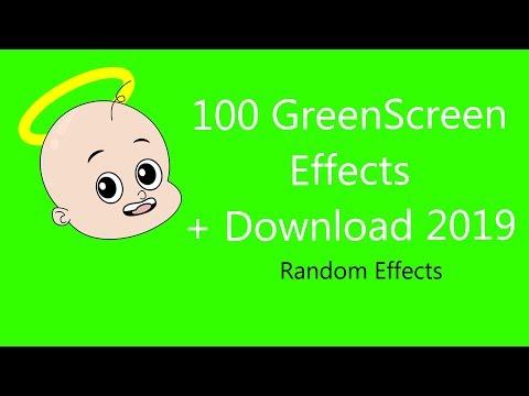 100 GreenScreen Effects + Download 2019 | Random Effects