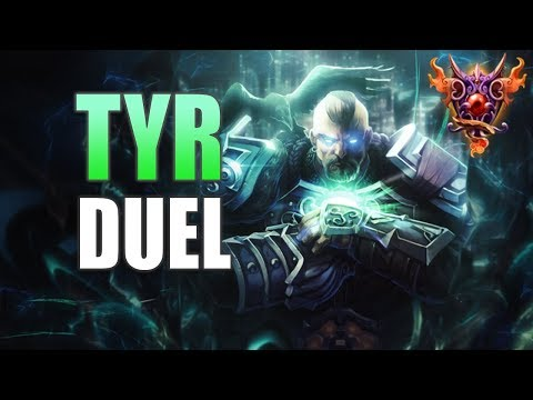 Tyr Duel Gameplay | SMITE Masters Ranked | B Tyr!