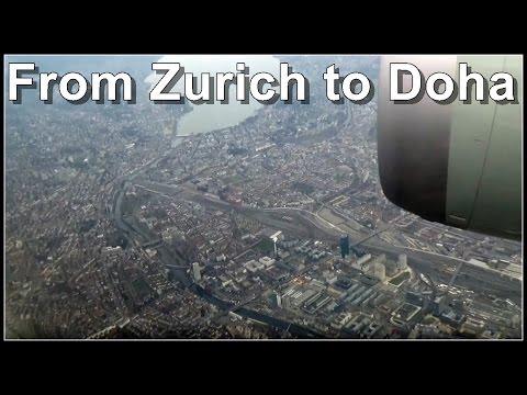 FLIGHT REPORT ✈ From Zurich to Doha - Boeing 787 Dreamliner - Qatar Airways