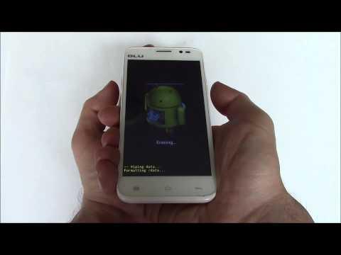 How To Hard Reset A BLU Dash 5.0 D410A Smartphone