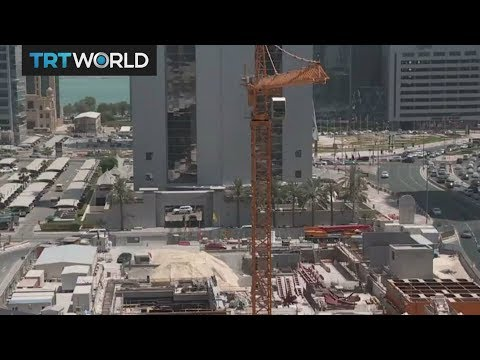 Qatar's construction industry takes a knock