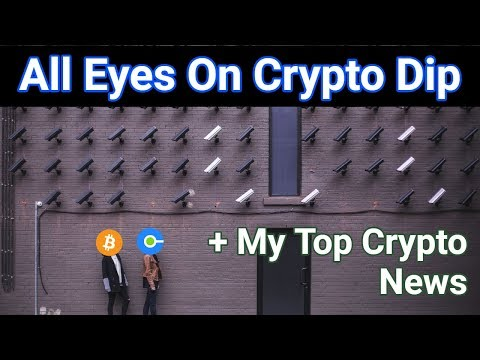 I Did Say We Were Due For A Pullback + My Top Crypto News